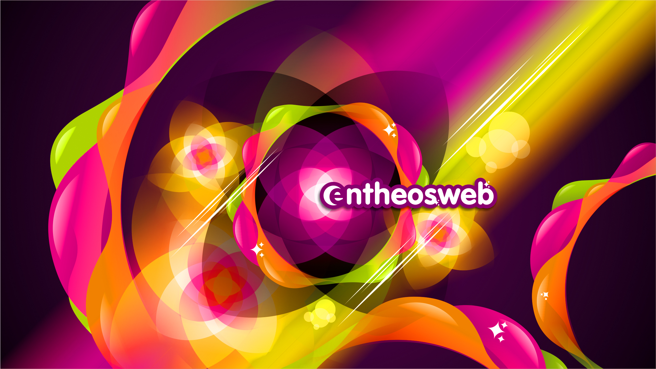 Creating A Colorful Abstract Wallpaper Design With CorelDraw