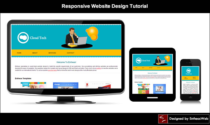 Charming Responsive Website Tutorial